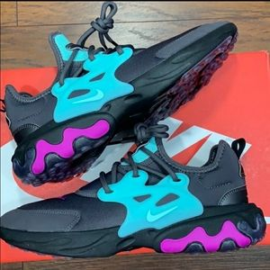 Nike React Presto GS Running Shoes Thunder Viole